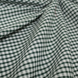 Gingham Checks Woven Polycotton Fabric - 5 Colours 45 Wide