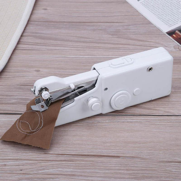 Portable Electric Hand-Held Sewing Machine