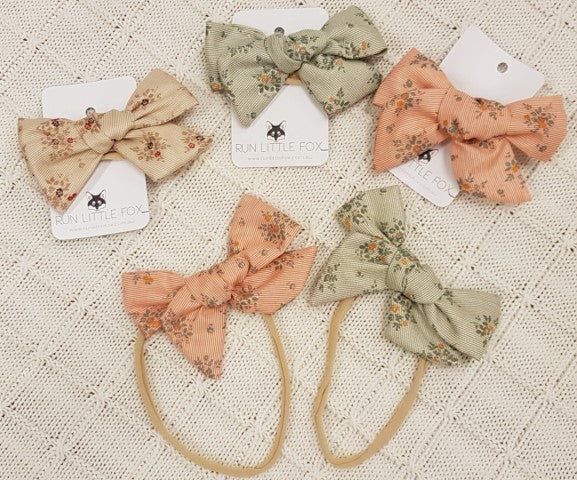 Load image into Gallery viewer, Vintage Bow Baby Headband