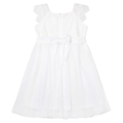 Load image into Gallery viewer, Angie Lace Bodice Dress Ivory