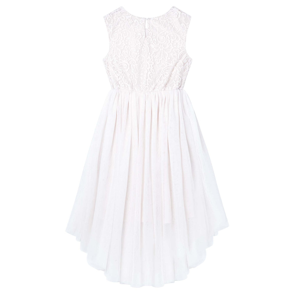 Load image into Gallery viewer, Delilah Lace Dress Ivory
