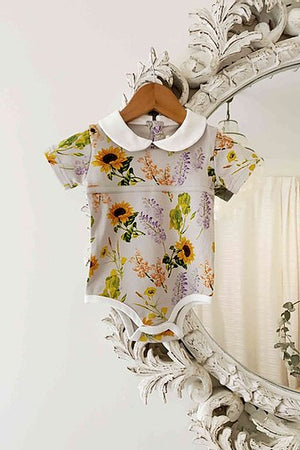 Peter Pan Bodysuit - Wildflower