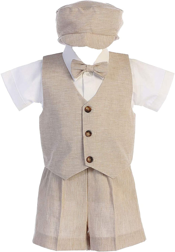Load image into Gallery viewer, Lito Linen Vest Set