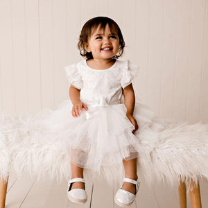 My First Lace Tutu S/S Ivory
