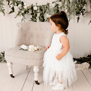 Load image into Gallery viewer, Sophie Lace Bodice Tutu Dress Ivory