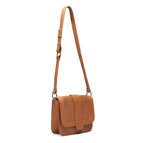 Solstice Shoulder Bag - Tan