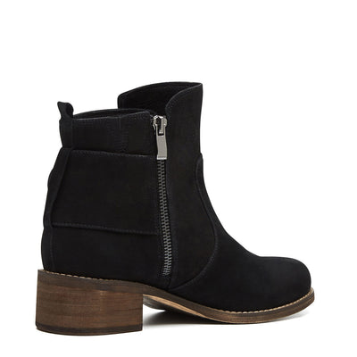 Harlequin Belle Cloudstomp Boot Black Leather