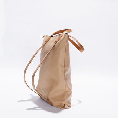 Wanderlust Backpack Bag - Caramel / Tan