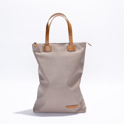Wanderlust Backpack Bag - Cement / Tan