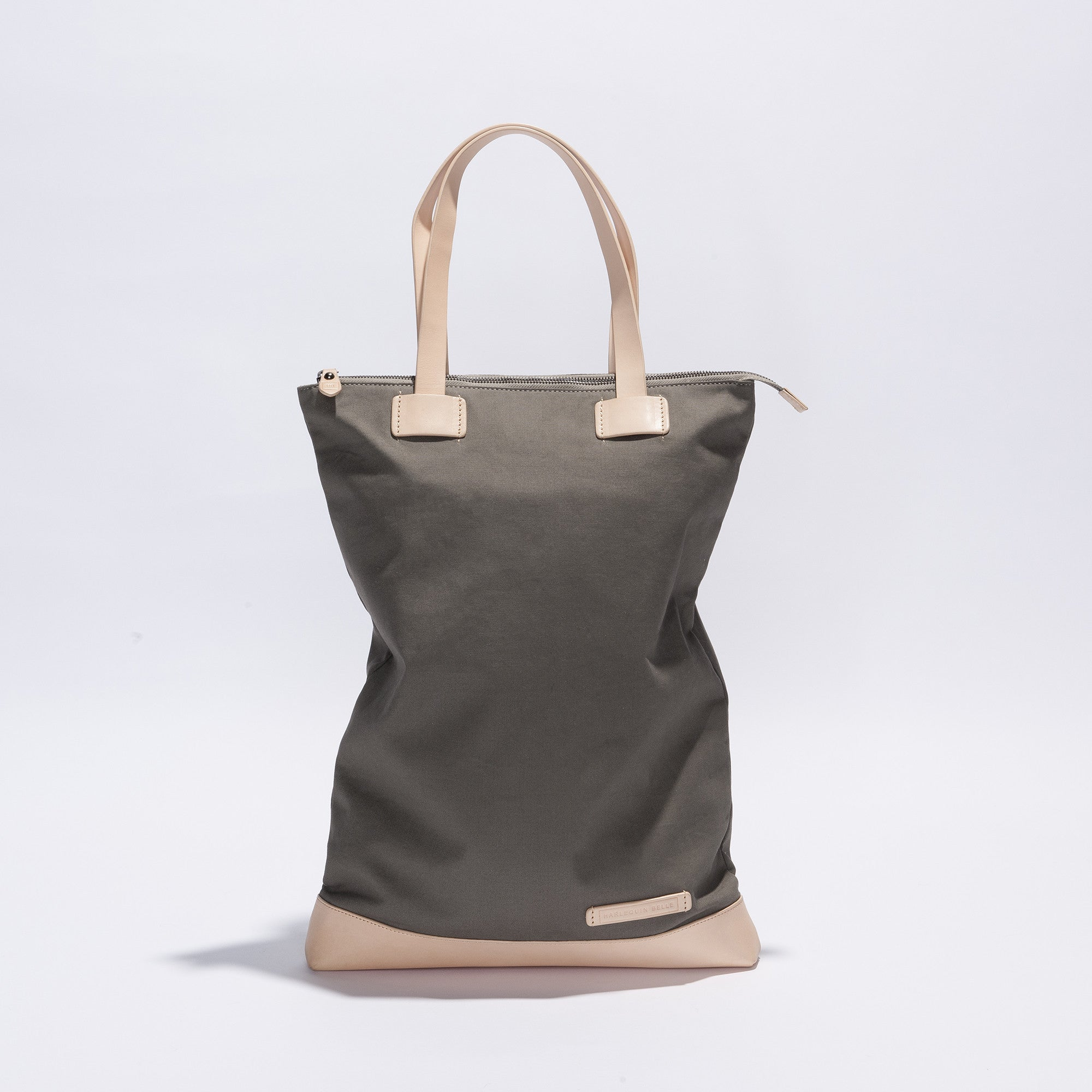 Wanderlust Backpack Bag - Charcoal / Nude Canvas