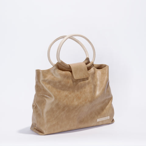 Vienna Bag - Toffee/Almond