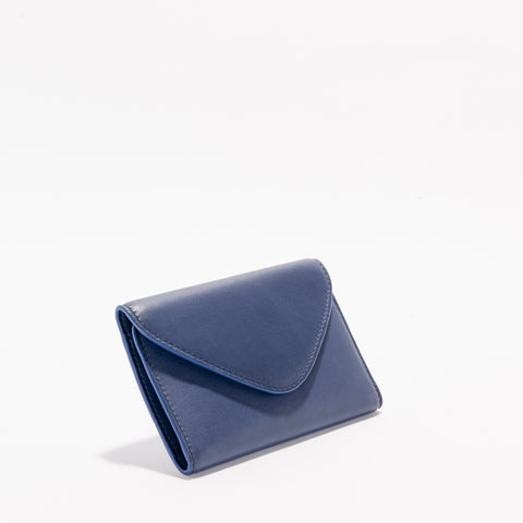 Harlequin Belle Wanderlust Wallet Midnight Blue Leather
