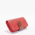 Harlequin Belle Sidewalk Leather Wallet Purse Pomegranate Tan Leather