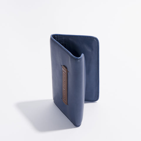 Wanderlust Wallet - Midnight Blue