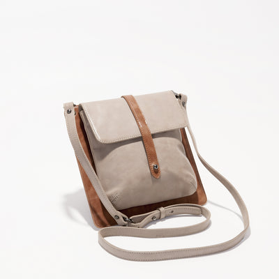 Harlequin Belle Elements Bag Stone Tan Leather