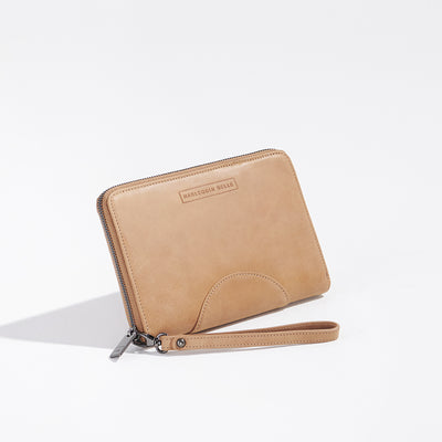 The Moonrise Travel Wallet Toffee