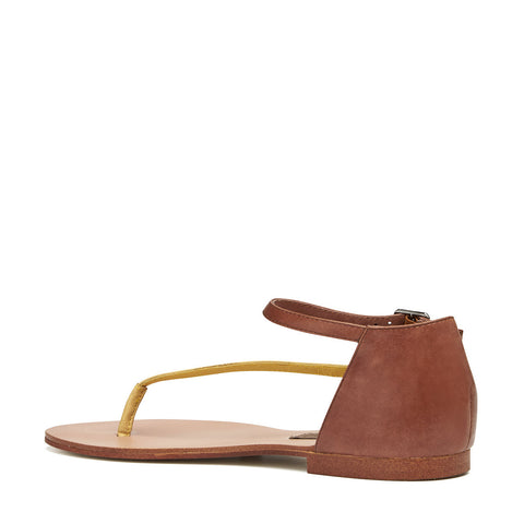 Harlequin Belle Daydreamer Leather Sandal Sand Tan