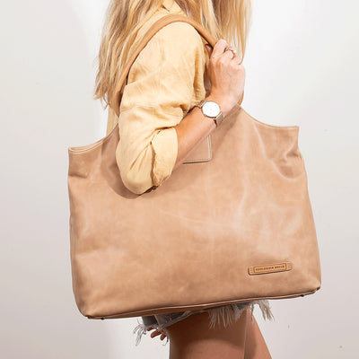 Vienna Bag - Almond / Toffee