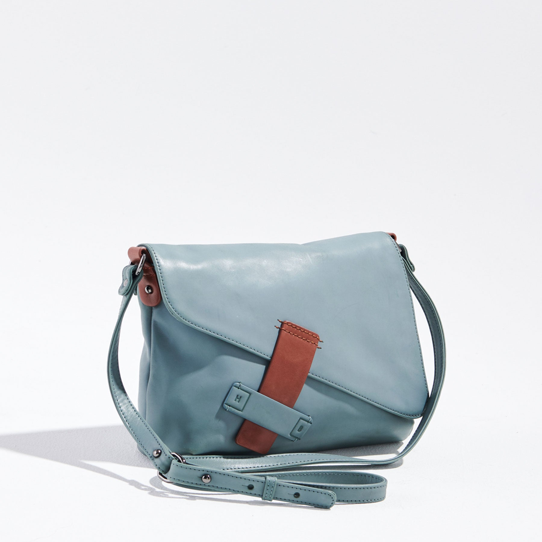Dreamwalker Bag - Ocean / Dark Tan