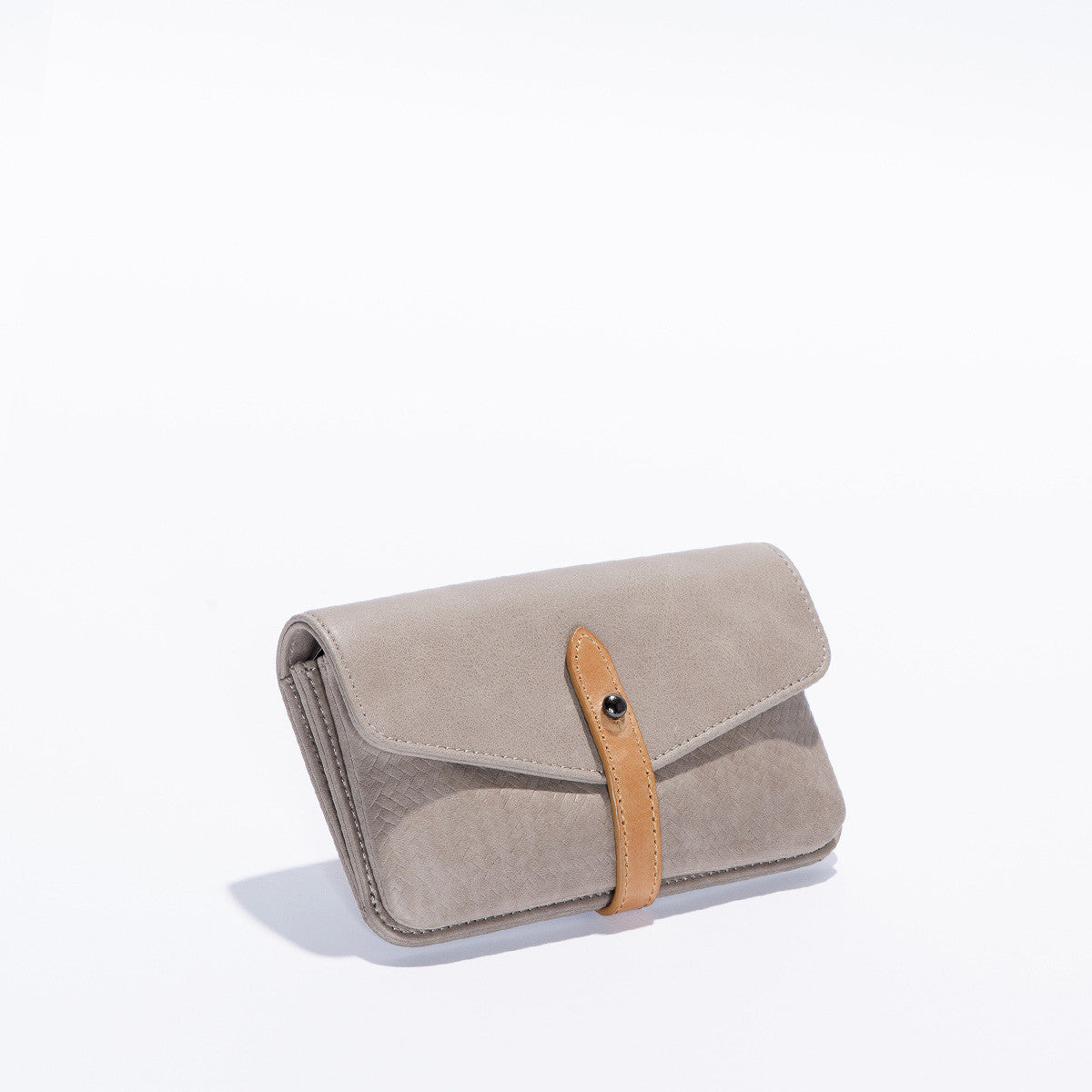 The Elements Wallet - Cement / Tan