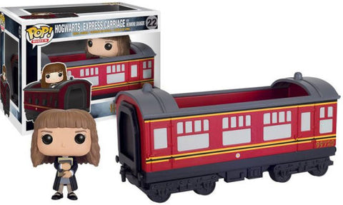 Hogwarts Express Carriage with Hermione Granger Pop Vinyl #22
