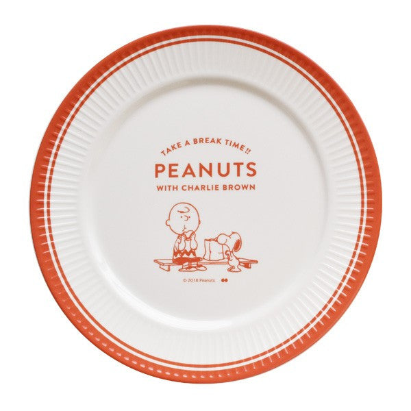Snoopy with Charlie Melamine Plate
