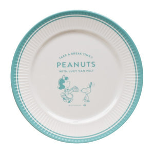 Snoopy with Lucy Melamine Plate