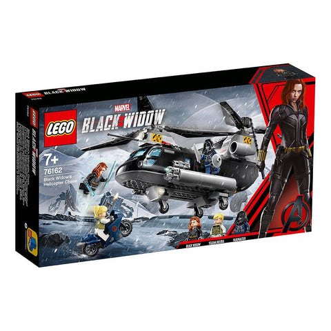 MARVEL Black Widow's Helicopter Chase 76162