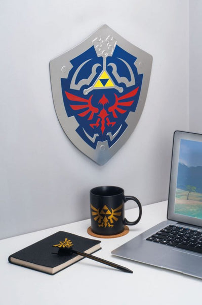 Zelda Hylian Shield - Metal Wall Art