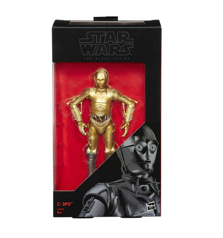 C-3PO (Silver Leg Exclusive) Black Series 6""