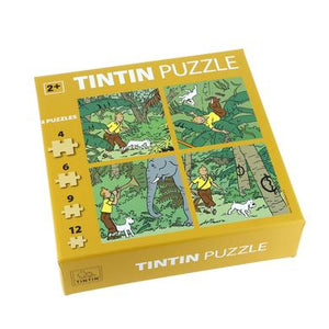 Tintin in the jungle
