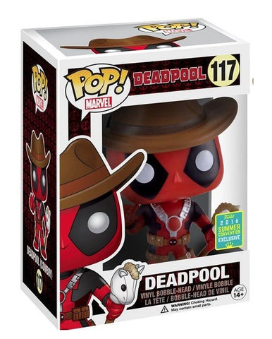 Deadpool (Cow boy) Pop Vinyl #117
