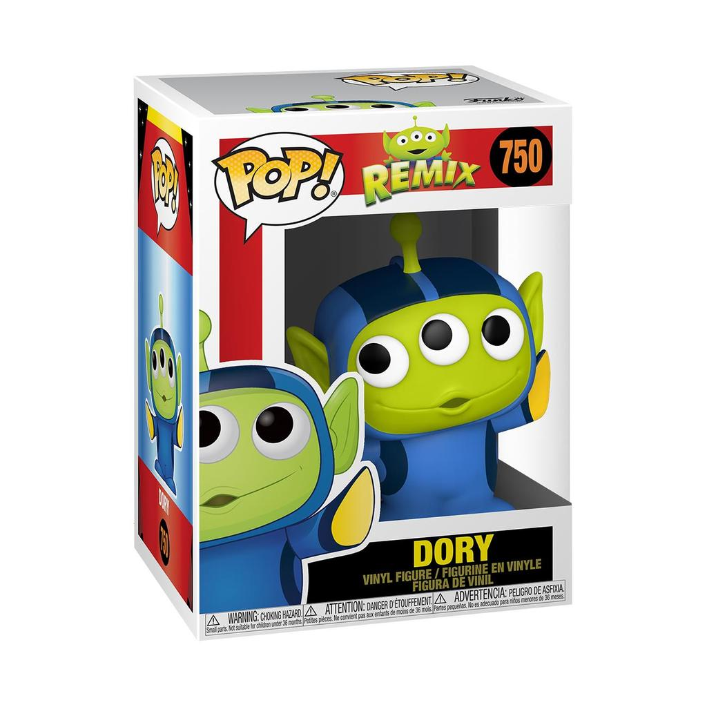 Dory Alien Remix Pop Vinyl #750