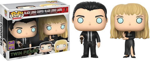 Twin Peaks Pop Vinyl [SDCC2017] Box Damage