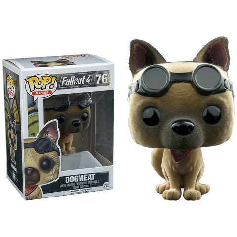 Dogmeat Pop Vinyl #76 Flocked