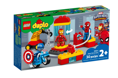 Duplo Marvel Superhero Lab 10921