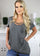 Long grey tunic top