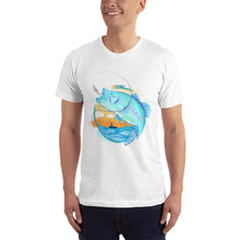 Load image into Gallery viewer, Sunset Men's Fishing T-Shirt