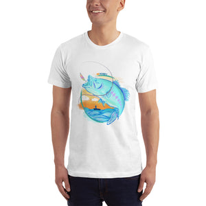 Sunset Men's Fishing T-Shirt