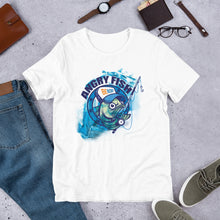Load image into Gallery viewer, Angry Fish Short-Sleeve Men's Fishing T-Shirt