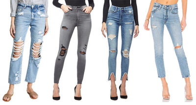 5 Easy Ways to Make Your Own Pair of Distressed Jeans