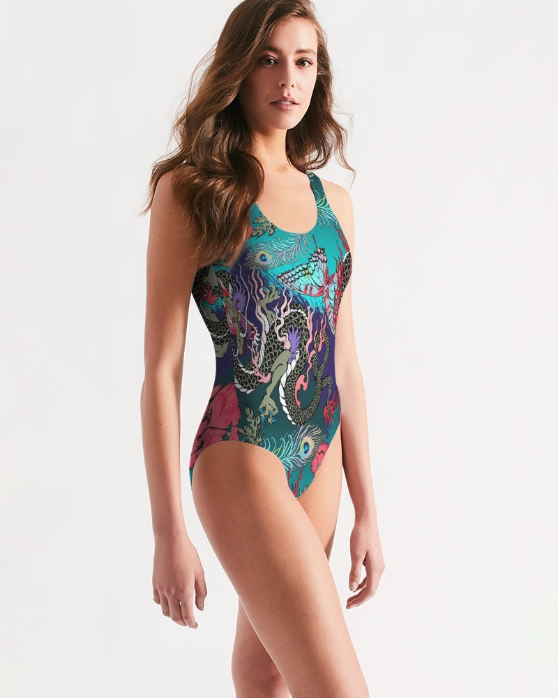 Dragon And Phoenix Women's One-Piece Swimsuit