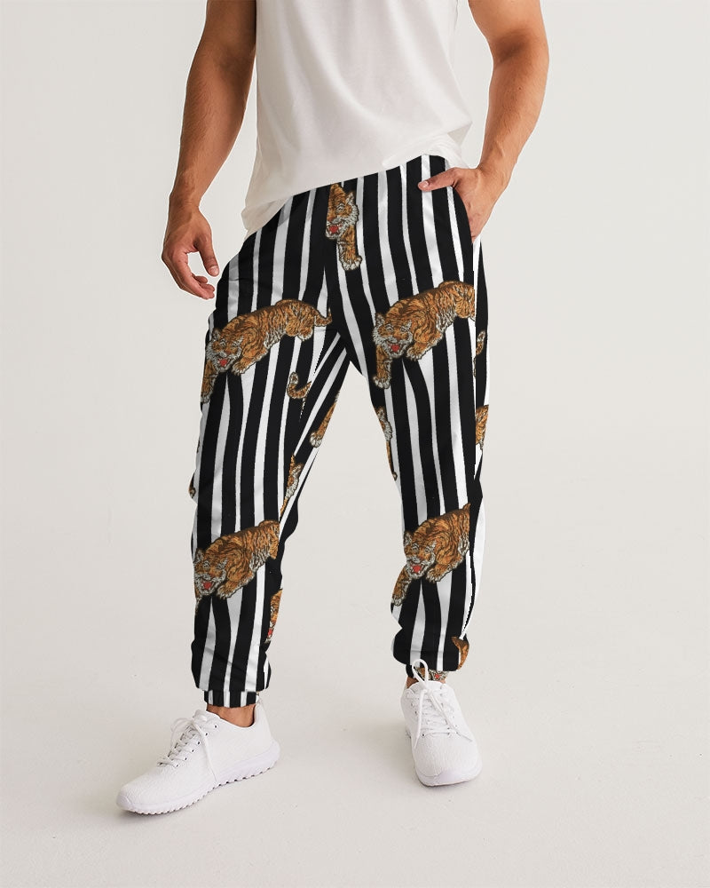 Tiger Print Men's Track Pants