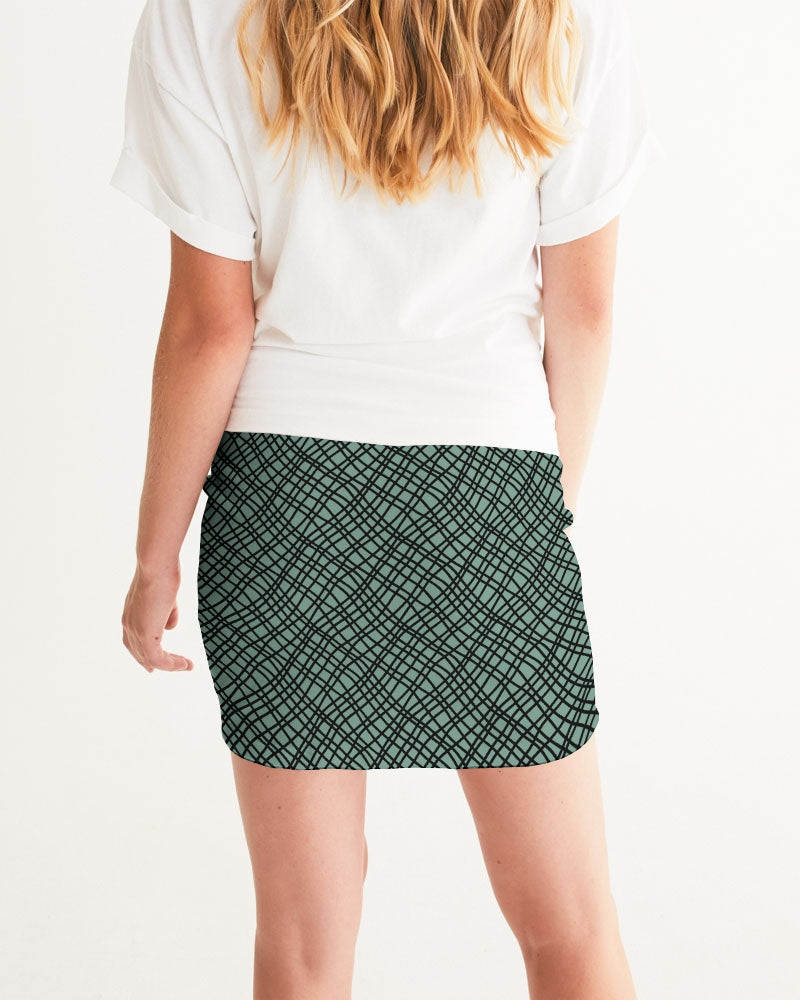 Tiffany Green Favor Women's Mini Skirt