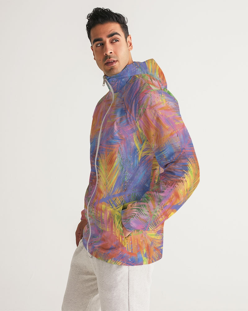 Flolige Colorful Men's Windbreaker