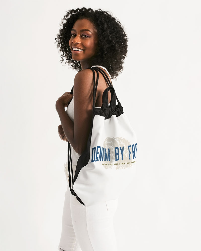 Denim By Fred Canvas Drawstring Bag