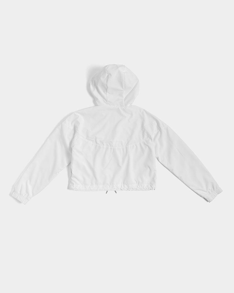 Denim By Fred Women's Cropped Windbreaker