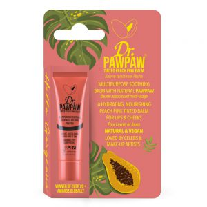 BALM PEACH PINK -  BÁLSAMO COLOR DURAZNO 10ML