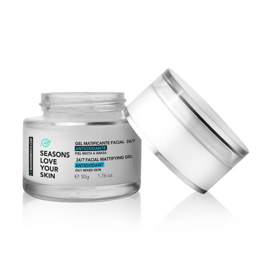 GEL MATIFICANTE FACIAL 24/7 50GR