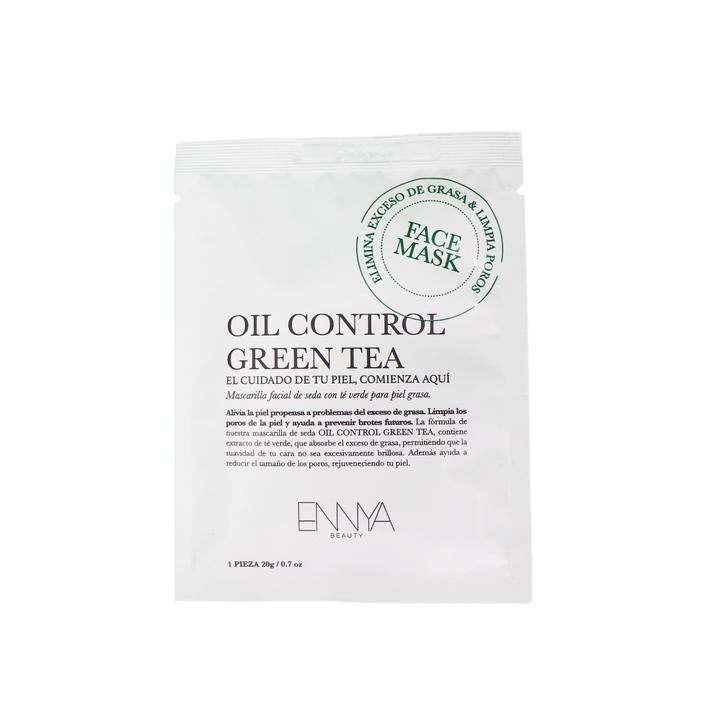 OIL CONTROL GREEN TEA SHEET MASK